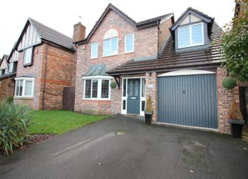 Thumbnail 4 bed detached house for sale in Minster Drive, Urmston, Manchester