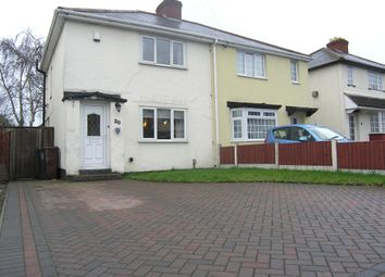 Thumbnail 2 bedroom semi-detached house for sale in Wood End Road, Wednesfield, Wolverhampton
