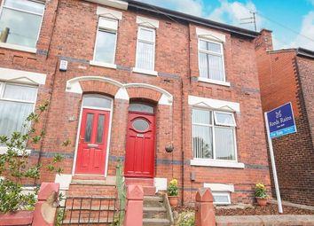 Thumbnail 3 bedroom semi-detached house for sale in Carrington Road, Stockport