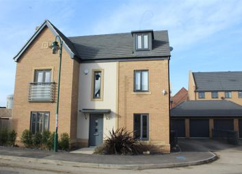 Thumbnail 5 bedroom detached house for sale in Coriander Drive, Hampton Vale, Peterborough