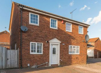 Thumbnail 2 bed semi-detached house for sale in Barnston Close, Luton