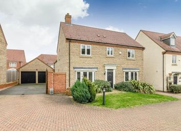 Thumbnail 4 bedroom detached house for sale in Heston Walk, Oxley Park, Milton Keynes, Buckinghamshire