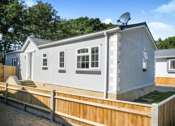 Thumbnail 2 bed mobile/park home for sale in Baddesley Road, North Baddesley, Southampton