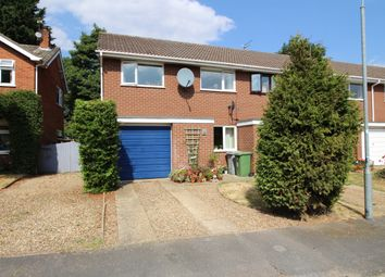 Thumbnail 3 bed terraced house to rent in Dovedales Court, Sprowston, Norwich