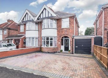 Thumbnail 3 bed semi-detached house for sale in Shakespeare Drive, Braunstone Town, Leicester, Leicestershire