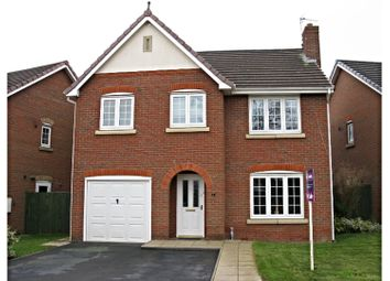 Thumbnail 4 bed detached house for sale in Jenkins Road, Coalville