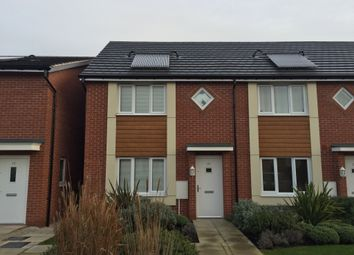 Thumbnail 1 bed town house to rent in Hattersley Way, Leicester