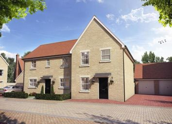 Thumbnail 3 bed semi-detached house for sale in Penrose Park, Biggleswade, Bedfordshire