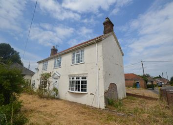 Thumbnail 4 bed detached house for sale in Stow Road, Magdalen, Kings Lynn, Norfolk