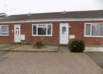 Thumbnail 1 bedroom bungalow to rent in Noel Close, Hopton, Great Yarmouth