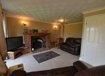 Thumbnail 4 bed detached house for sale in Old Great North Road, Stibbington, Peterborough