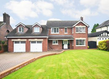 Thumbnail 5 bed detached house for sale in Stallington Road, Blythe Bridge