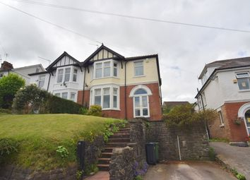 Thumbnail 3 bedroom semi-detached house for sale in Heol Isaf, Radyr, Cardiff, Caerdydd