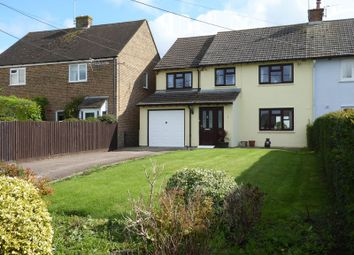 Thumbnail 4 bed semi-detached house for sale in The Close, Stoke Lyne, Bicester