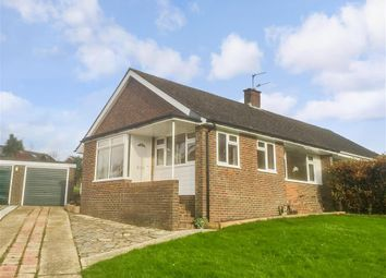 Thumbnail 2 bedroom semi-detached bungalow for sale in Beech Road, Findon, Worthing, West Sussex