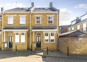 Thumbnail 3 bed end terrace house for sale in Carver Close, Church Path, Chiswick, London