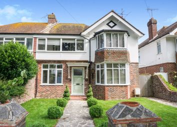 Thumbnail 4 bed semi-detached house for sale in Hailsham Road, Worthing
