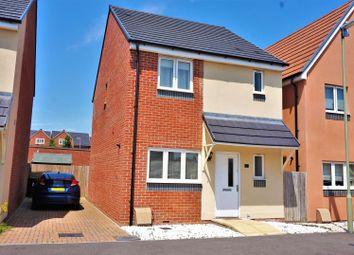 Thumbnail 3 bedroom detached house for sale in Keble Road, Sherborne Fields, Basingstoke