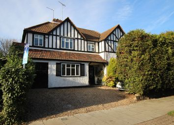 Thumbnail 5 bed detached house for sale in Old Park Avenue, Enfield