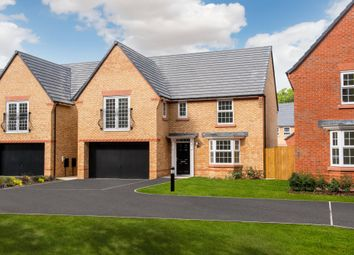 "Thumbnail 4 bed detached house for sale in ""Shelbourne"" at Station Road, Chelford, Macclesfield"