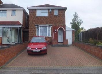 Thumbnail 3 bed detached house for sale in Berryfield Road, Sheldon, Birmingham