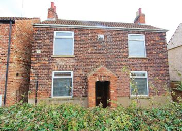 Thumbnail 3 bed detached house for sale in Church Lane, Barlby, Selby