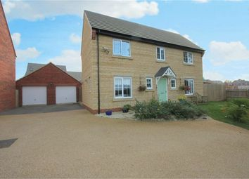 Thumbnail 4 bed detached house for sale in Mayfly Road, Northampton, Dragonfly Meadow, Northampton