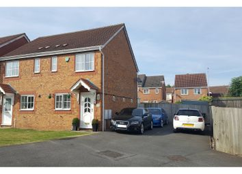 Thumbnail 2 bed semi-detached house for sale in Kelso Close, Measham, Swadlincote