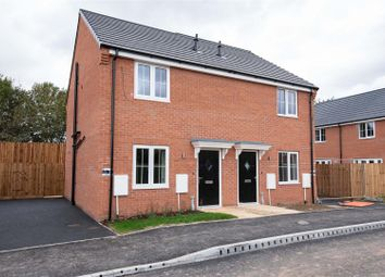 Thumbnail 2 bedroom semi-detached house for sale in Plot 8A - The Welland, Abbey Walk, Swineshead, Boston