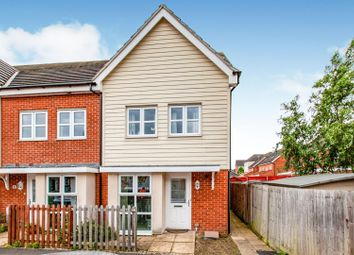 Thumbnail 2 bed end terrace house for sale in Leacroft, Slough