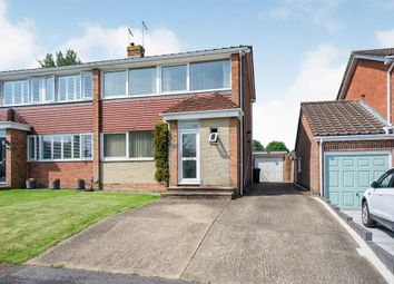Thumbnail 3 bed semi-detached house for sale in Ardington Rise, Purbrook, Waterlooville