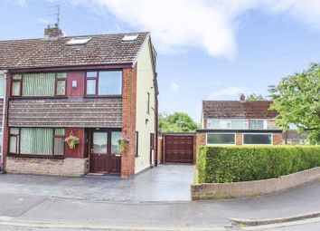 Thumbnail 4 bed end terrace house for sale in Middlewood Close, Aughton, Ormskirk