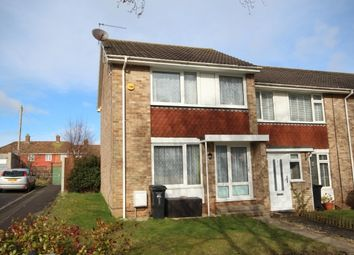 Thumbnail 3 bedroom end terrace house for sale in Ludlow Close, Bridgwater