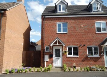 Thumbnail 3 bed semi-detached house for sale in Tooley Way, Deeping St. James, Peterborough