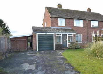 Thumbnail 3 bed semi-detached house for sale in Kingsley Close, Shaw, Newbury, Berks