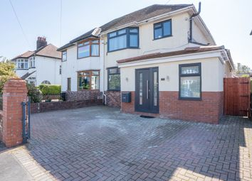 Thumbnail 3 bed semi-detached house for sale in Burnfort Road, Newport