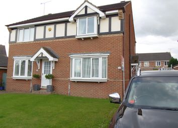 Thumbnail 3 bed semi-detached house to rent in The Haverlands, Hemsworth