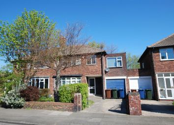 Thumbnail 5 bedroom semi-detached house for sale in Regent Farm Road, Gosforth, Newcastle Upon Tyne