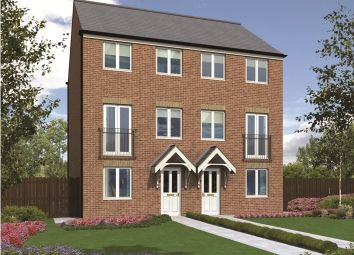 "Thumbnail 3 bed semi-detached house for sale in ""The Greyfriars"" at Old Cemetery Road, Hartlepool"