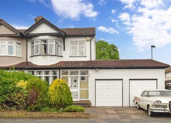Thumbnail 3 bedroom semi-detached house for sale in Harrow Road, Carshalton Beeches, Surrey
