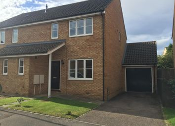 Thumbnail 2 bed semi-detached house to rent in Beresford Road, Ely