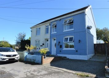 Thumbnail 3 bed semi-detached house for sale in Frondeg, Heol Dynant Fach, Tumble