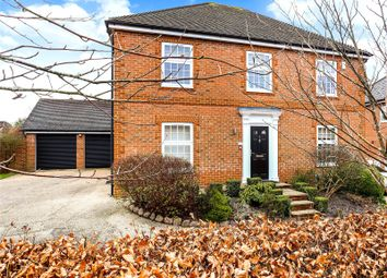 Thumbnail 4 bed detached house for sale in Pamber Drive, Fleet