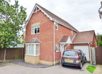 Thumbnail 3 bedroom detached house for sale in Keel Close, Carlton Colville