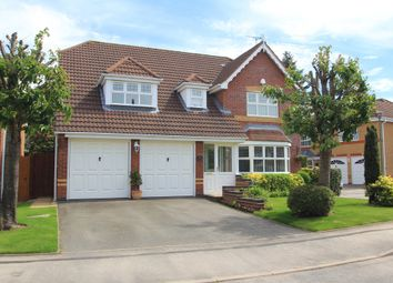 Thumbnail 4 bed detached house for sale in Whitehead Grove, Balsall Common, Coventry