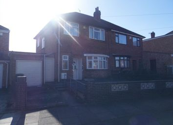 Thumbnail 3 bed semi-detached house for sale in Sheringham Road, Leicester