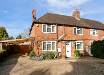 Thumbnail 3 bed semi-detached house to rent in Remenham Hill, Remenham, Henley-On-Thames