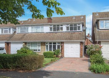 Thumbnail 4 bed semi-detached house for sale in Viking Way, Pilgrims Hatch, Brentwood
