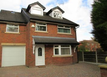 Thumbnail 5 bed detached house to rent in Grosvenor Road, Swinton, Manchester