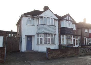 Thumbnail 3 bed semi-detached house for sale in Brookdene Road, London
